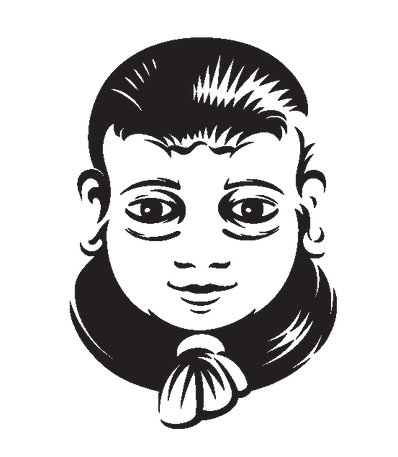 Chachu Head upside down Transparent back