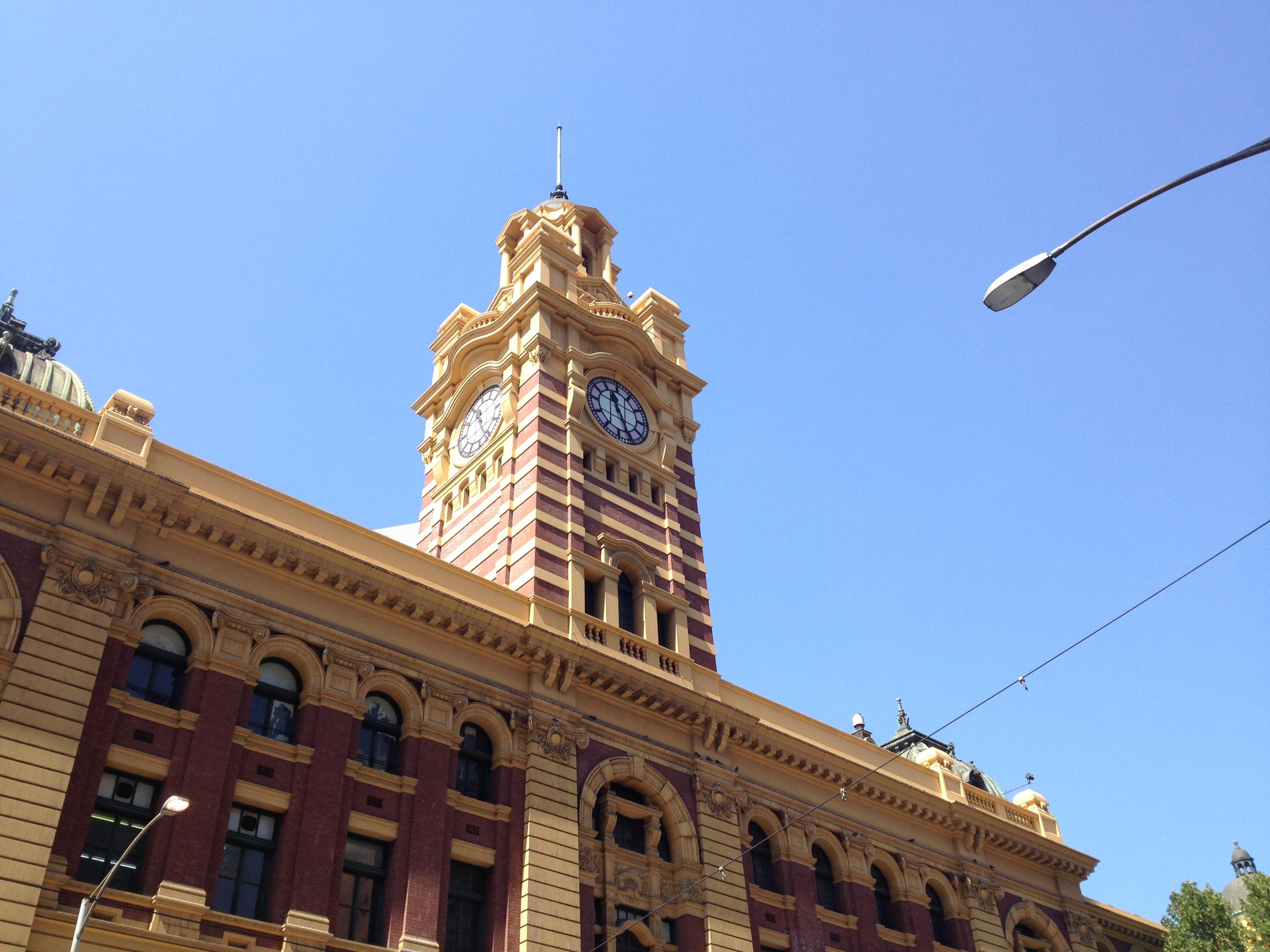 Flinder Station - Melbourne, Australia