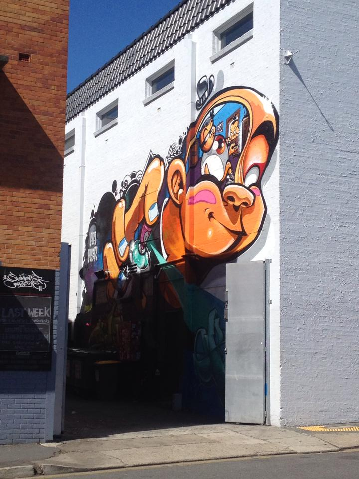 Graffiti - Melbourne, Australia