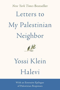 Letters to My Palestinian Neighbor Book