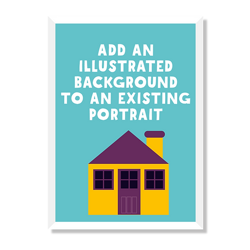 ADD ILLUSTRATED BACKGROUND