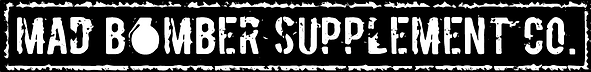 Mad Bomber Supplements Logo
