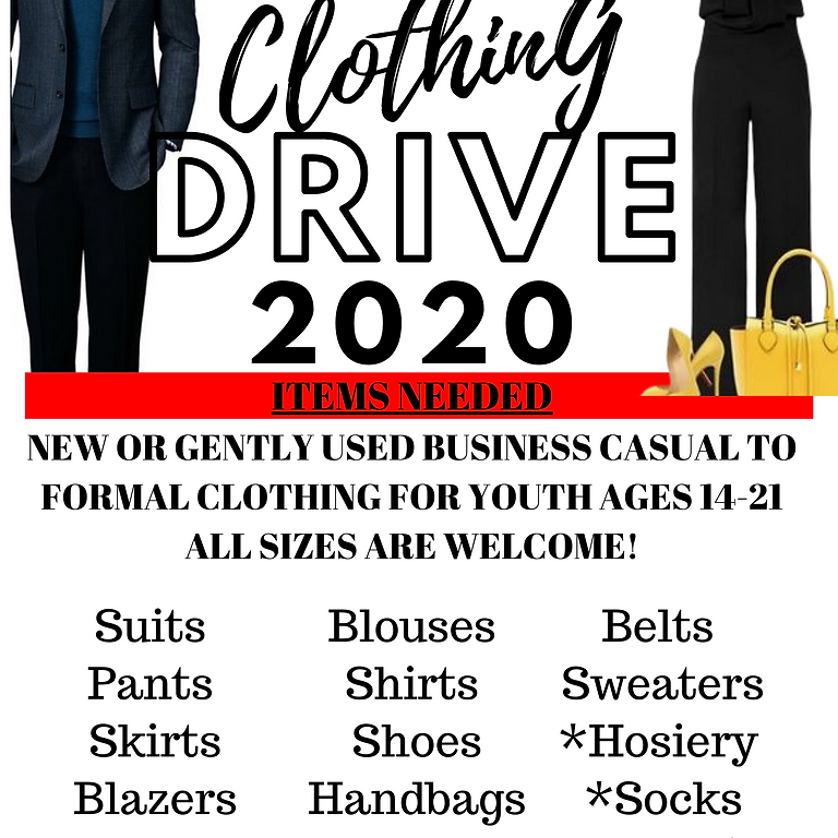 Clothing Drive- EXTENDED!!!