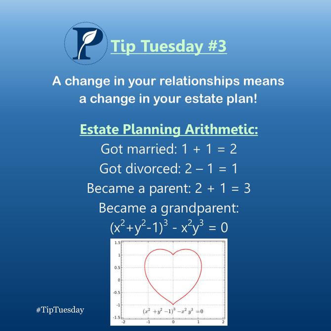 Estate Planning Arithmetic