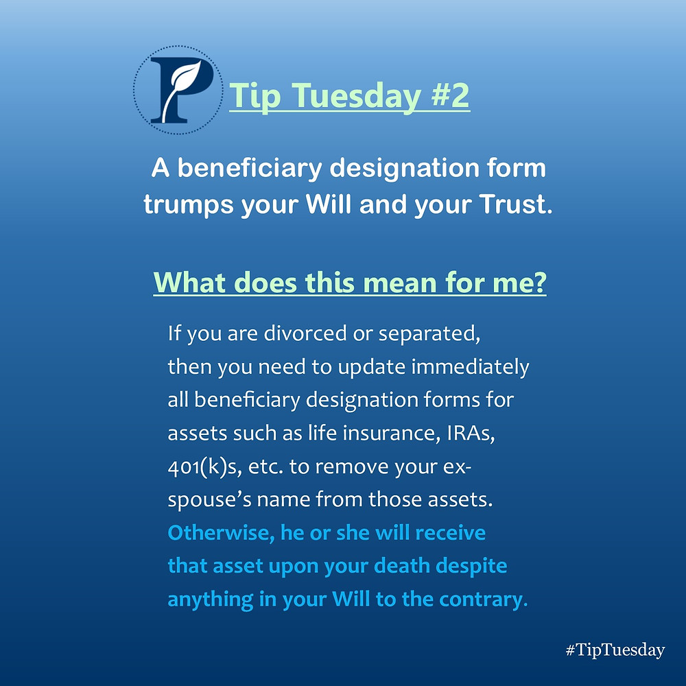 Beneficiary Designations Tip
