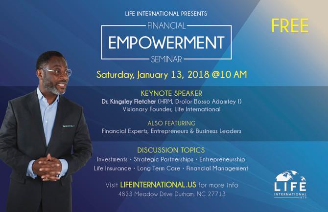 Financial Empowerment Seminar