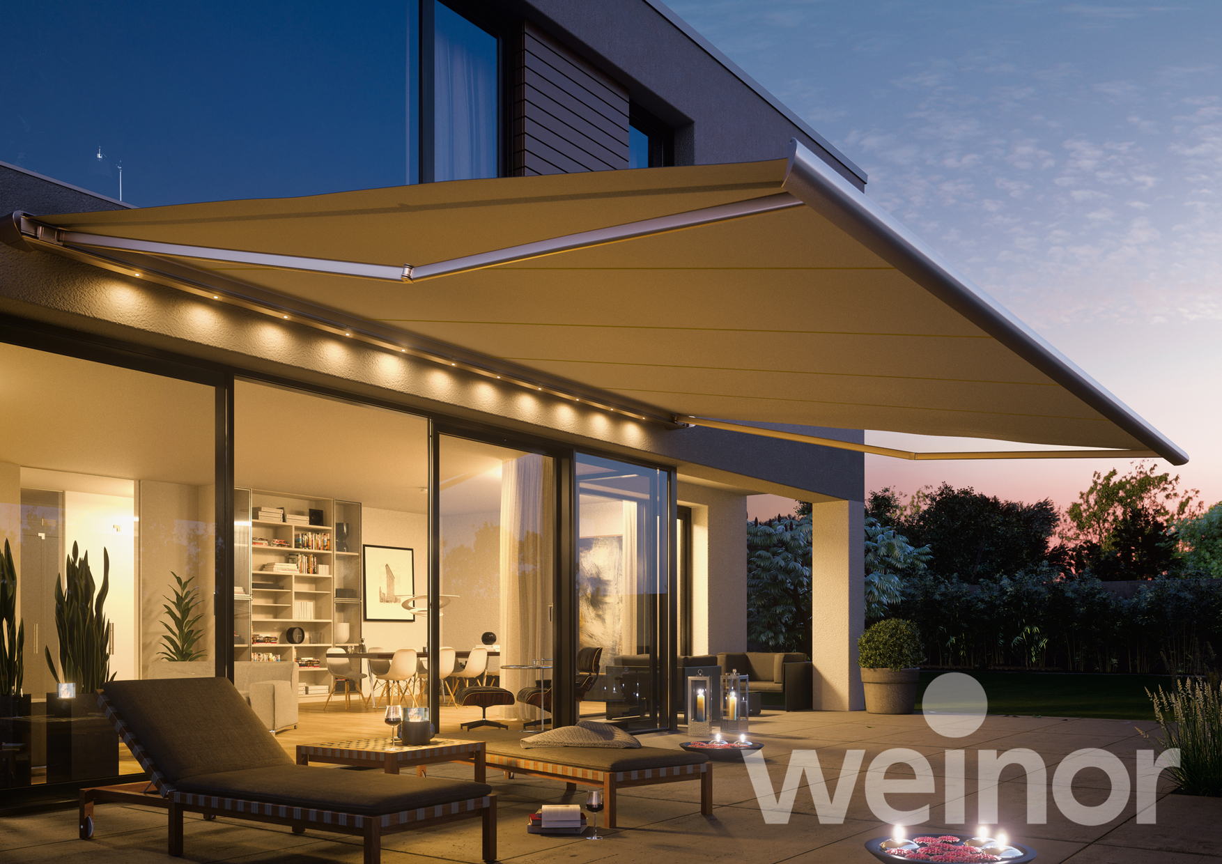 Zenara LED Awning