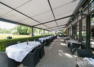 Restaurant Terrace Awnings