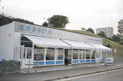 Recessed shop awnings
