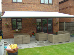 Awning installed on Canvey Island
