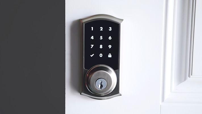 Digital smart door lock security system
