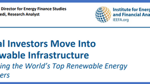 Report Review: A Consistent Rise in Investments in Low-Carbon Infrastructure, Despite COVID-19