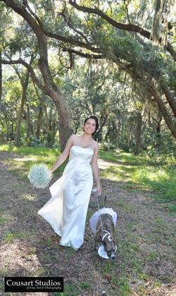 Bride, photo by Cousart Studios