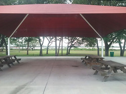 Outdoor Pavilion looking East