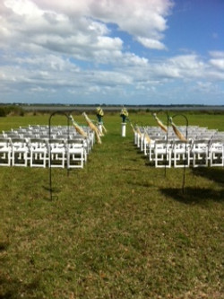 Riverview Club Outside Ceremony