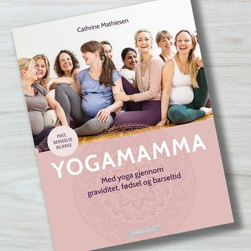 Bok: Yogamamma: Med yoga gjennom graviditet, fødsel og barseltid
