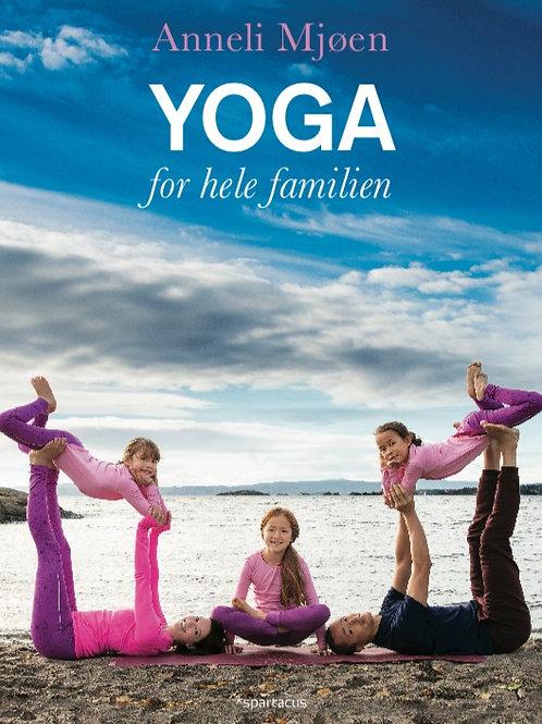 Bok: Anneli Mjøen Yoga for hele familien