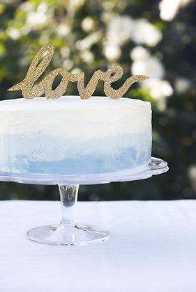 Glass cakestand