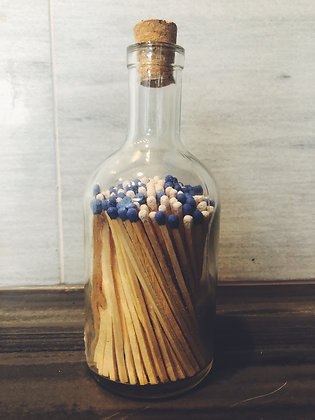 Bottle of matches