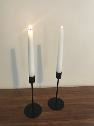 Black candlesticks - 16 available