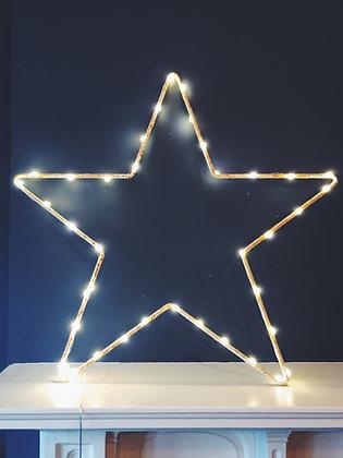 Giant light up star