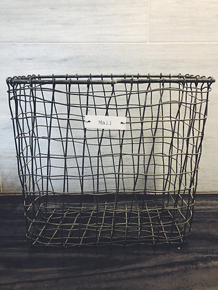 Wire mail card box