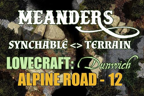 Lovecraftian Dunwich: Alpine Road12