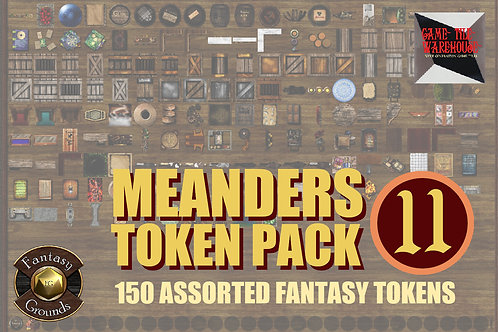 FG Meanders Fantasy Token Pack 11