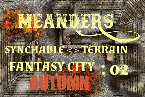 Fantasy City Autumn 02