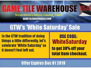 GTW's 'White Saturday' Sale