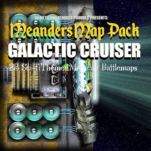 Galactic Cruiser: Roll20 Meanders Map Pack