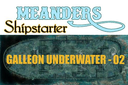 Shipstarter Galleon Underwater - 02