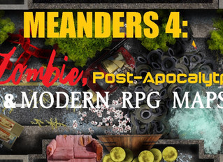 Meanders 4: Zombie/PApoc/Modern