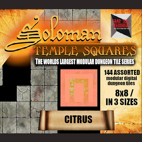 Soloman Temple Squares - CITRUS