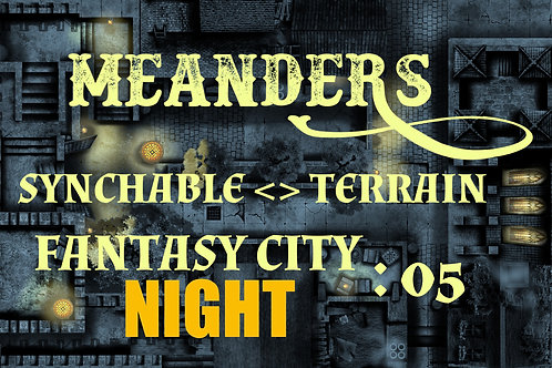 Fantasy City Night 05