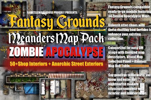 Zombie Apocalypse for Fantasy Grounds