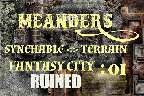 Fantasy City Ruined 01