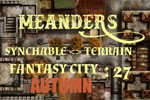Fantasy City Autumn 27