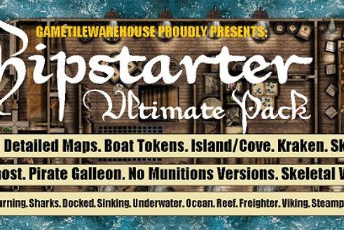Shipstarter Fantasy Grounds Meanders Map Pack