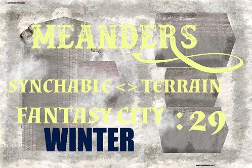 Fantasy City Winter 29