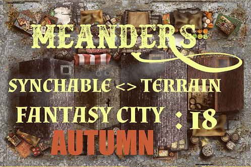 Fantasy City Autumn 18