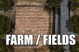 #rpg #maps #rpgmaps #road #bridge #stone #fence #field #open #grass #green #dry #paddock #farmyard #muddy