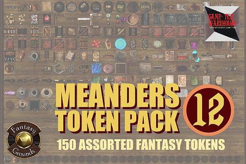 FG Meanders Fantasy Token Pack 12