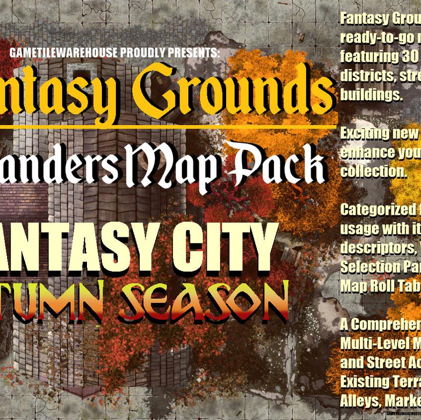 Autumn City Promo Graphic