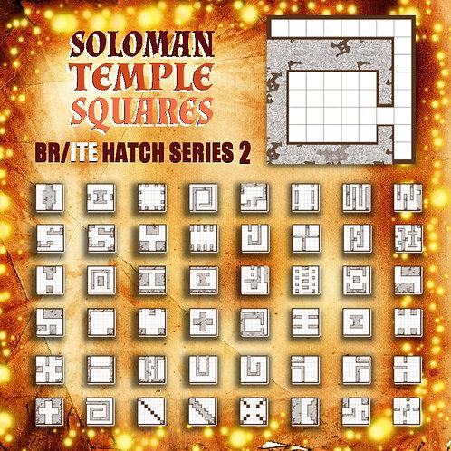 Soloman Temple Squares: Br/Ite Hatch Series2