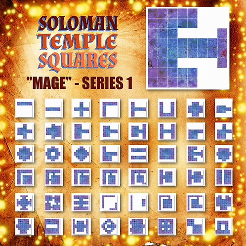 Soloman Temple Squares: Mage Series 1