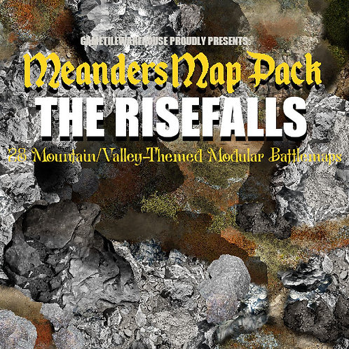 The Risefalls: Roll20 Meanders Map Pack
