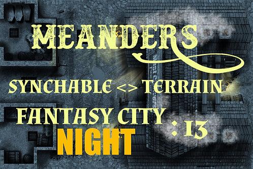 Fantasy City Night 13