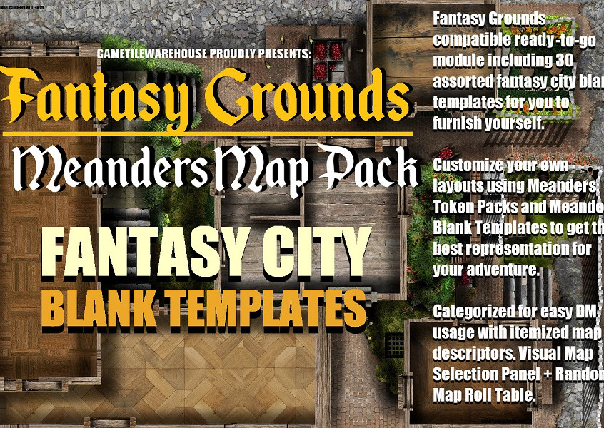 Blank City Promo Graphic I