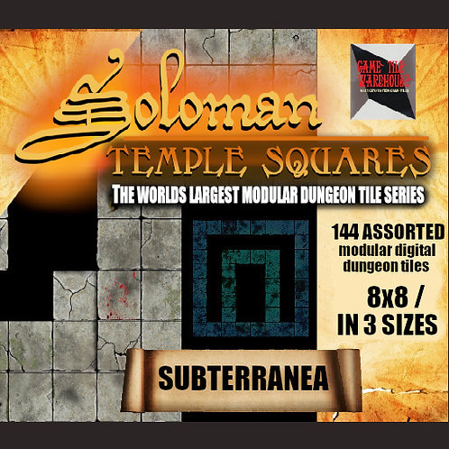 Soloman Temple Squares - SUBTERRANEA